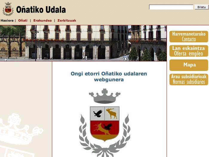 Oinati.net webgunea on-line