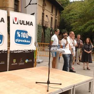 Olaberria eta Maeztu omendu zituen Ulmako ziklismo taldeak