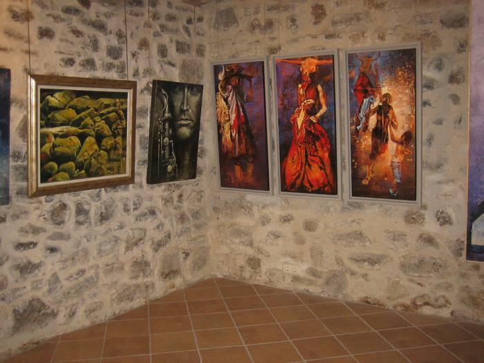 Olio-pinturak eta akuarelak ikusgai Ibarraundi museoan