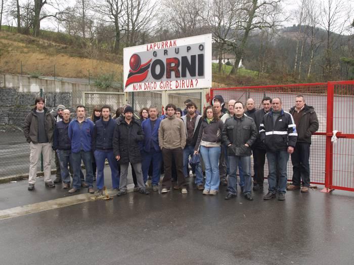Orni: enpresa Konkurtso Legean eta langileak kobratzeke