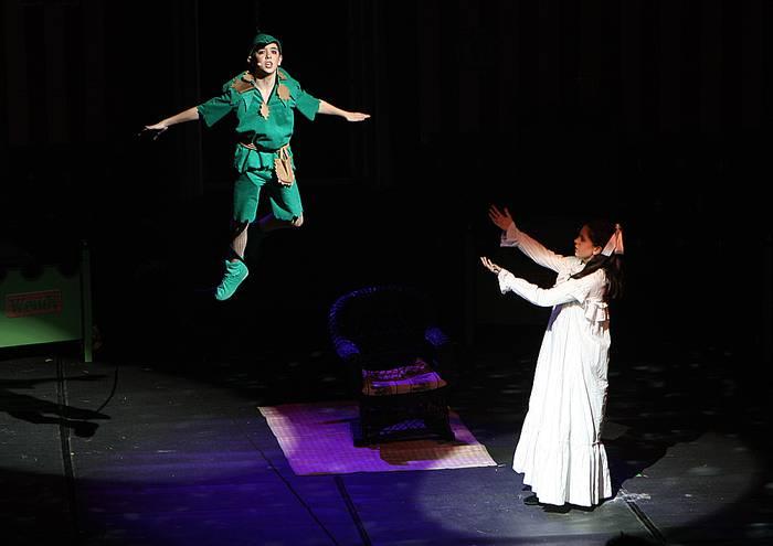 'Peter Pan' Iruñeko Baluarten ere