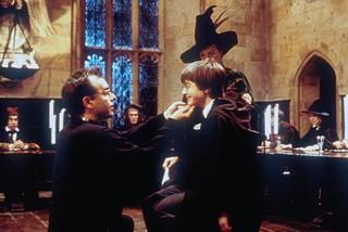 'Harry Potter y la piedra filosofal' filma domekan
