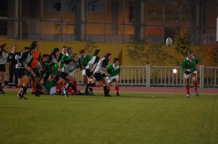 Pirinioetako emakumezkoen errugbi txapelketan Euskadi nagusitu da