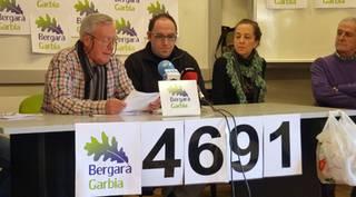 Bergara Garbiak urtebeteko moratoria eskatu dio alkateari