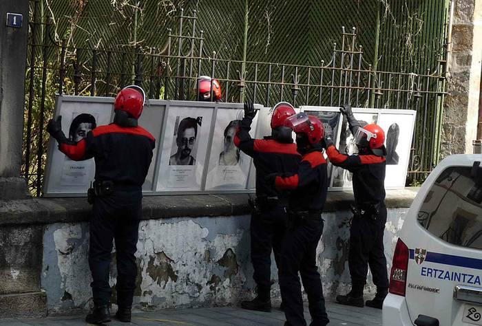 Portaloiko presoen argazkiak kendu dituzte Entzutegi Nazionalaren eskariz