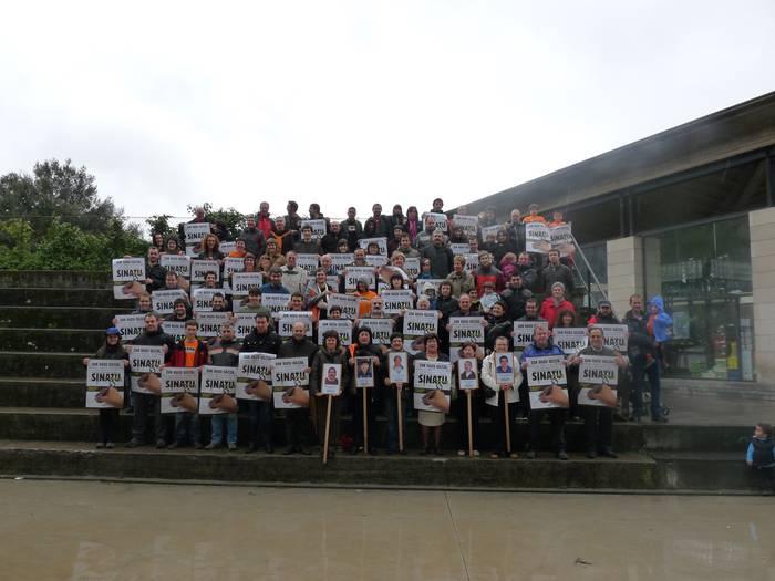 Preso politikoen eskubideen aldeko sinadurak bilduko dituzte aste bukaeran