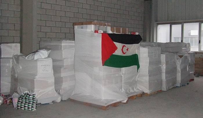 Saharako herriarendako 8,3 tona elikagai batu dira aurten
