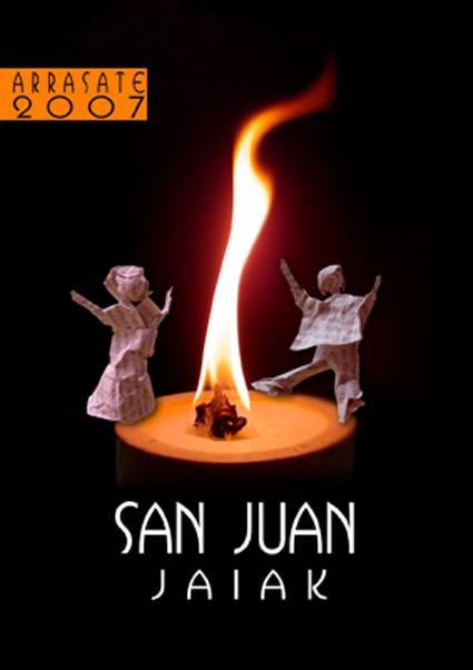 San Juanetako kartela prest
