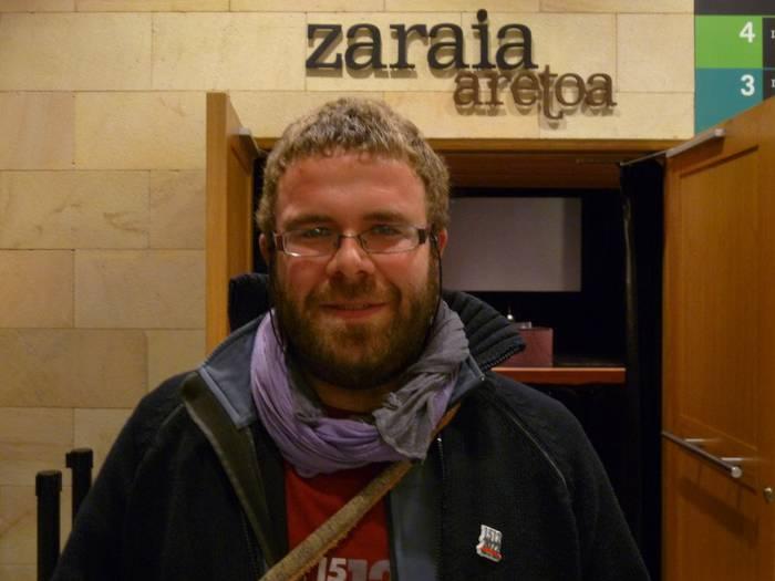 """Sergio Iribarren: """"Euskaldunok genituen lege zaharrak ziren foruak eta gaur ere erasotzen zaie"""""""