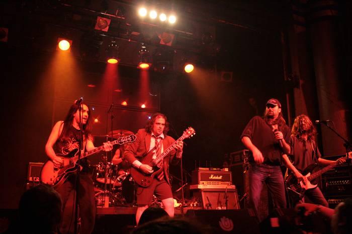 The Bon Scott Band taldearen kontzertua Errekaldeko jaietan