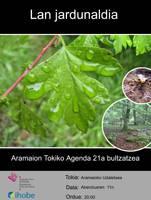 Tokiko Agenda 21 bultzatzeko bilera egingo da bihar