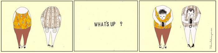 'What's up'-aren eraginak...