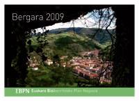 Webgunean duzue 2009ko Bergarako egutegia