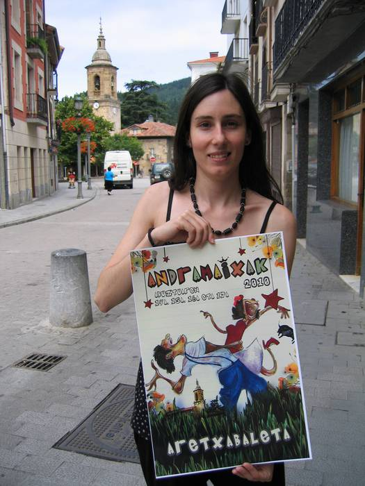 Yera Sanchezen irudiak emango du Andramaixen berri