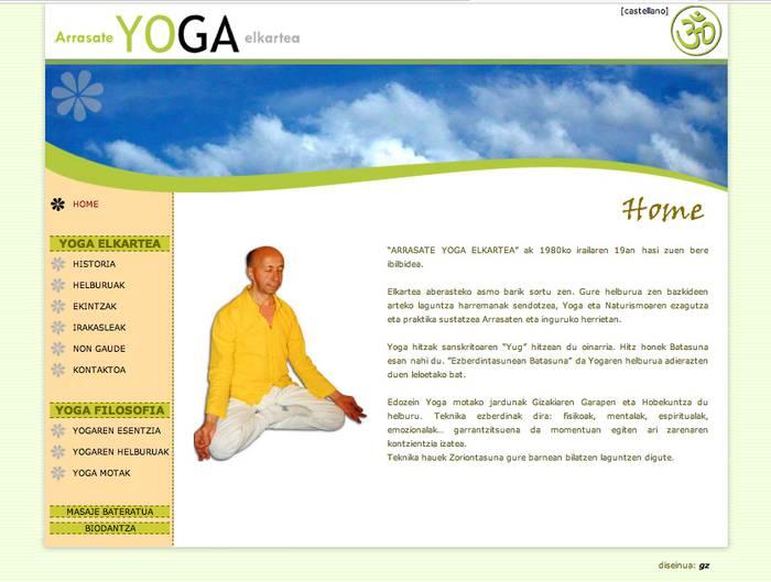 Yoga Elkarteko ikastaroak abian