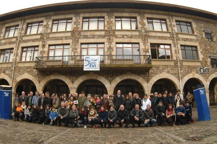 50. urteurreneko ospakizun ekitaldia egin dute Oñatiko Zuazola institutuan