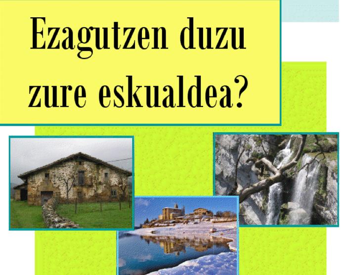Zuiako Koadrilako eskualdeari buruzko galdera lehiaketan izena emateko epea zabalik